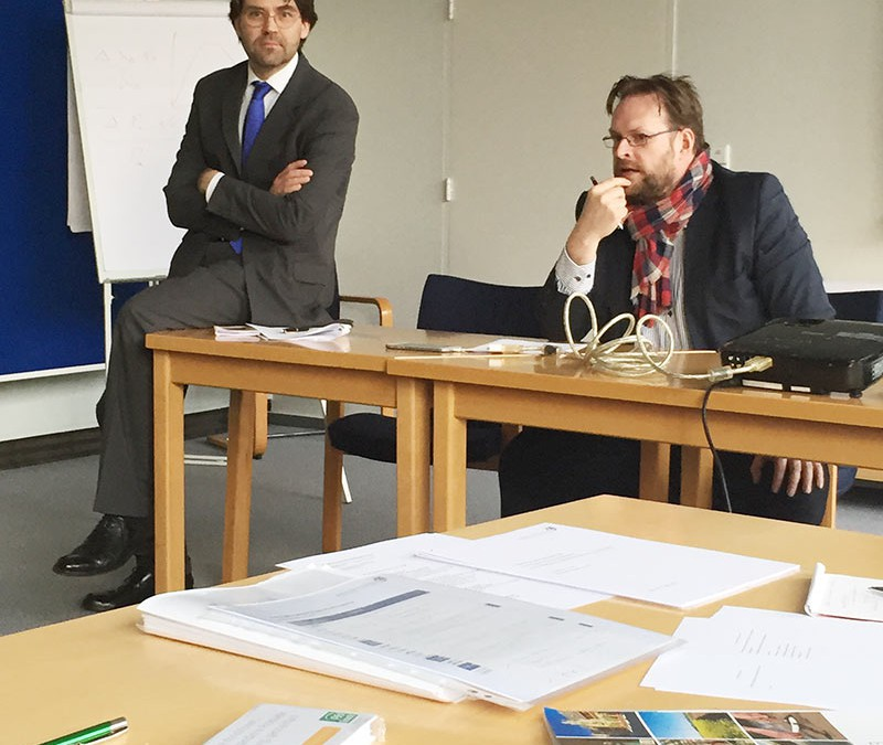 Briefing der Agenturen im Kurs W 68